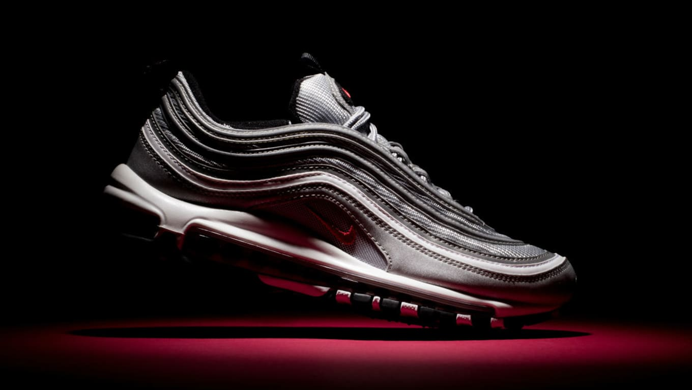 Nike Air Max 97 Silver Bullet 2017 Release Date Side 884421-001 ... a3b1bf249