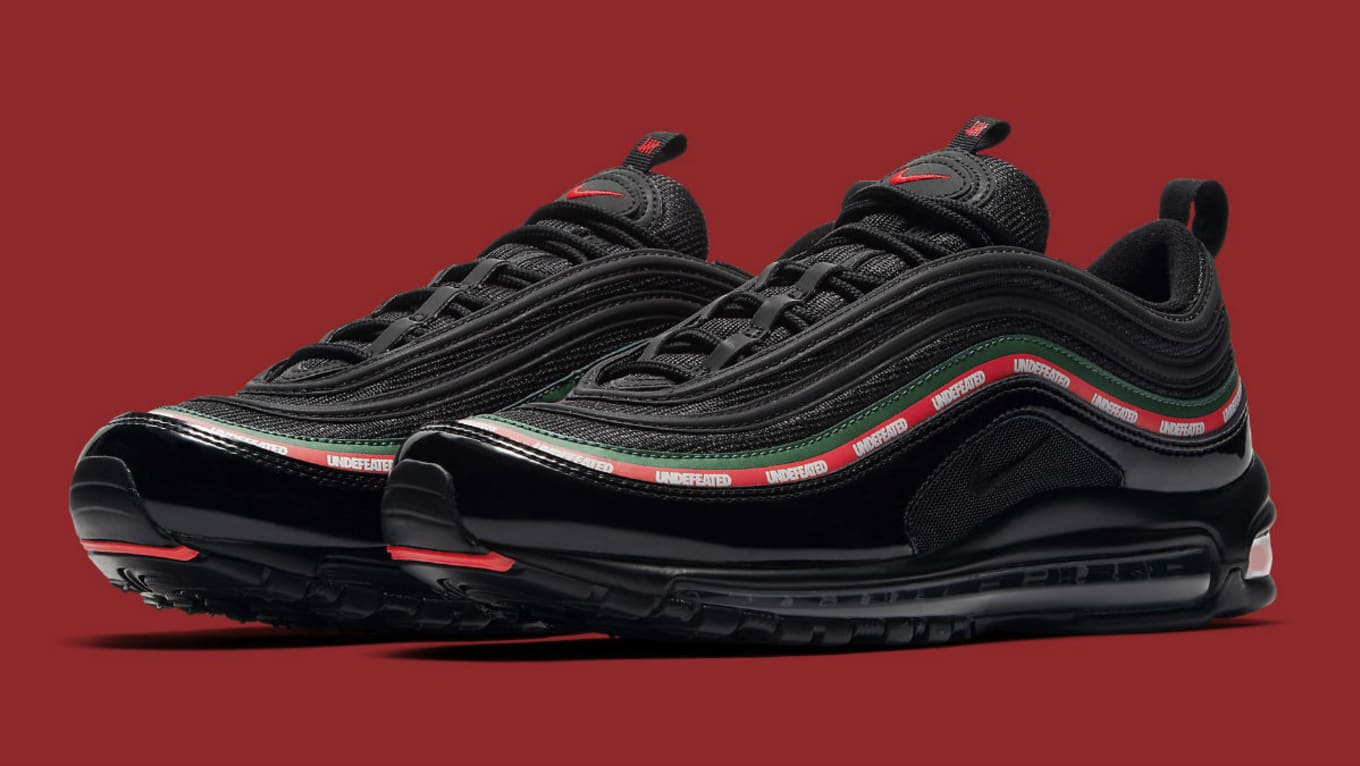 Undefeated x Nike Air Max 97 Black Release Date 3M AJ1986