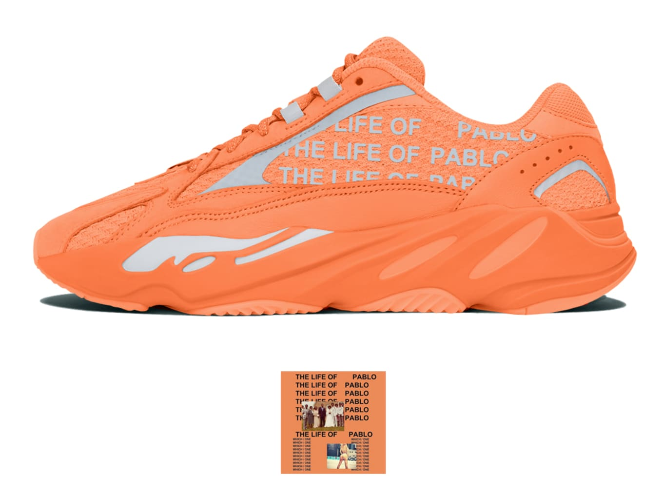 buy popular f3ffc 1598e Kanye West Yeezy 700 Albums | Sole Collector
