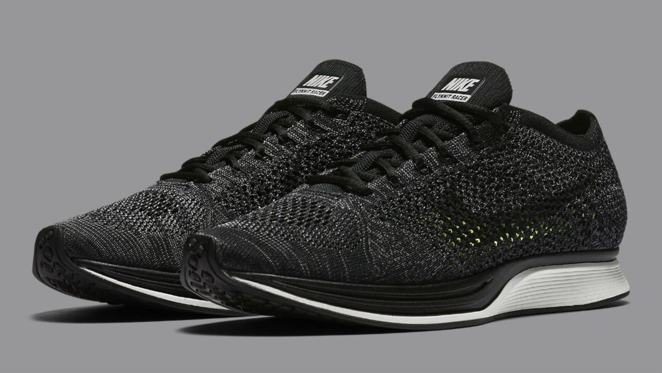 The Nike Flyknit Racer Is Back in Black. The