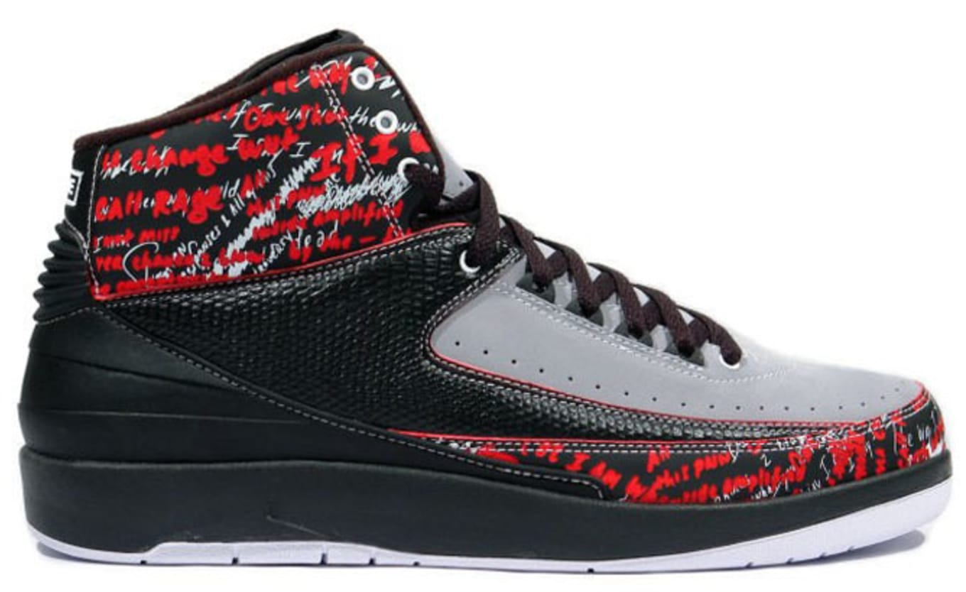 43ddbfbef86 Air Jordan 2  Eminem . Why so rare  Inspired by Eminem s 2008  autobiography