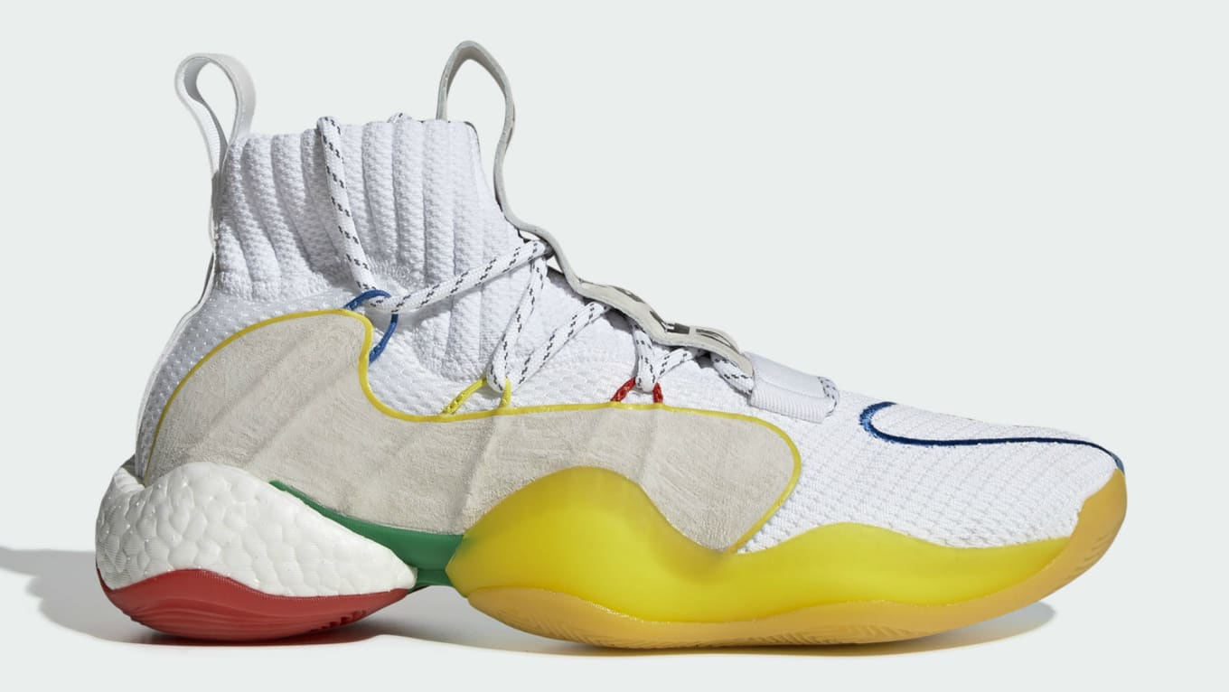 best website 00ade 49551 Pharrell x Adidas Crazy BYW LVL Ftwr White Supplier Colour. Image via  Adidas. Release Date  Friday ...
