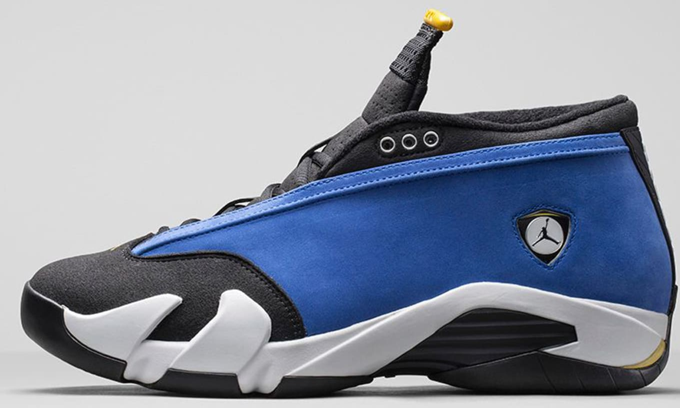 1fa0ed0cd950eb Air Jordan 14 Retro Low Laney Sole Collector Colorway Guide