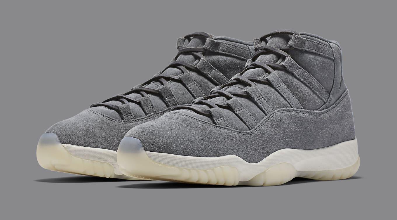 buy online 196f9 1b613 Grey Suede Air Jordan 11 Releasing Online Nike | Sole Collector
