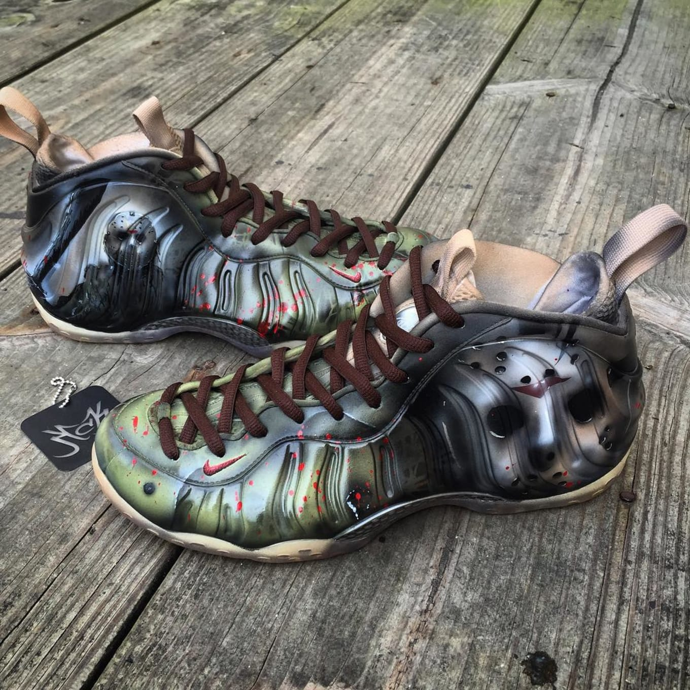 c2584f69260 Friday the 13th by Kreative Custom Kicks