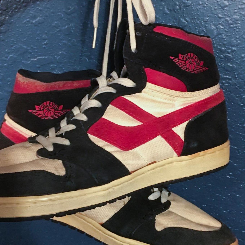 Volleys II Fake Air Jordan Vintage Sneakers 1980s | Sole Collector