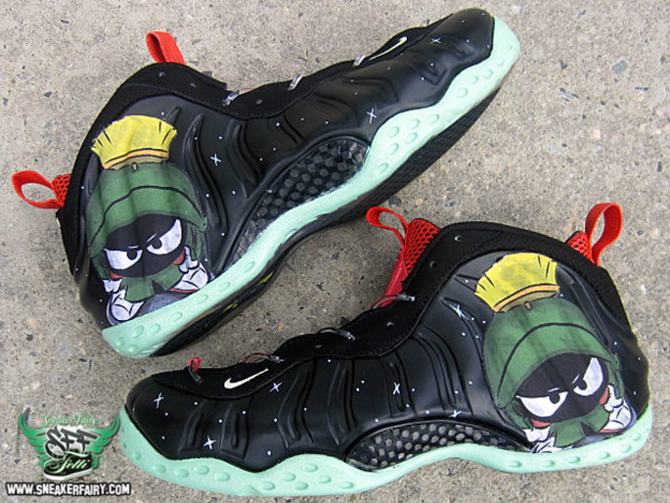 fbacb2db503a5 Marvin the Martian by Sneaker Fairy