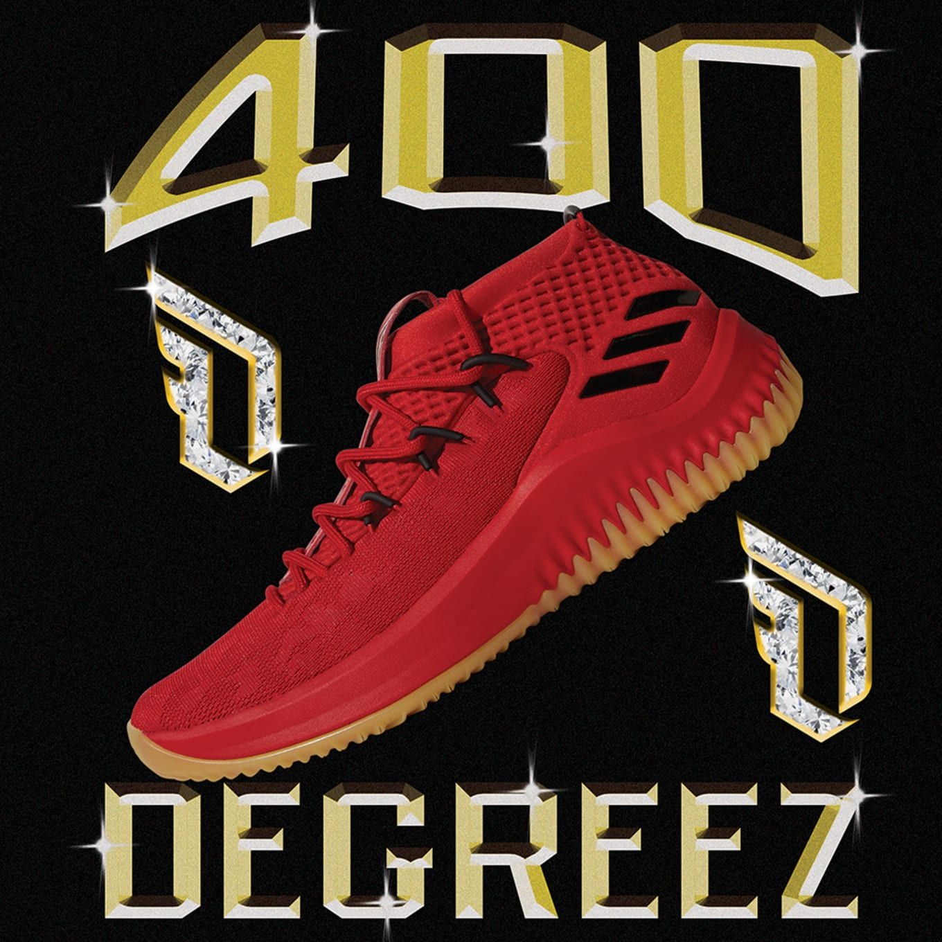 new product 2d2f6 ee6a6 promo code for 2018 new adidas dame 4 400 degreez red gum scarlet high  resolution red f24f5 0a379 new zealand adidas dame 4 80081 2bf8b