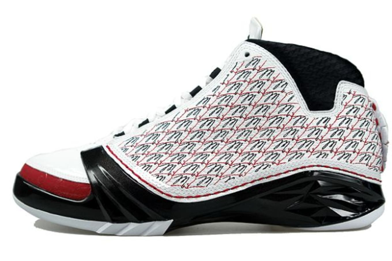 super popular 85970 ceac4 By the time the Air Jordan 23 hit in 2008 the all-over print craze was all  but over. This white-based upper helped call attention to that fact with  its ...