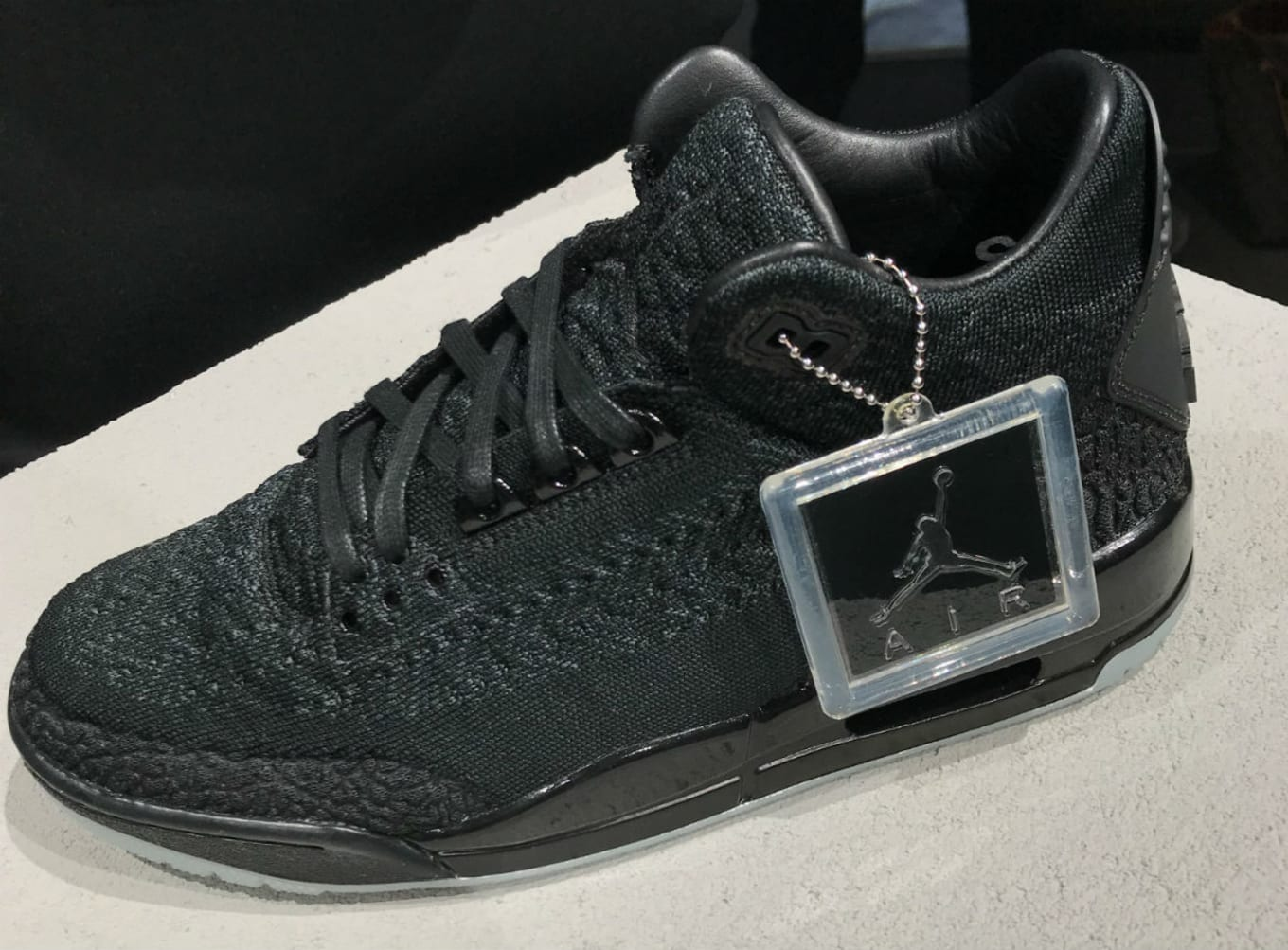 reputable site e2506 e69bb Air Jordan 3 III Flyknit Black Release Date AQ1005-001 ...
