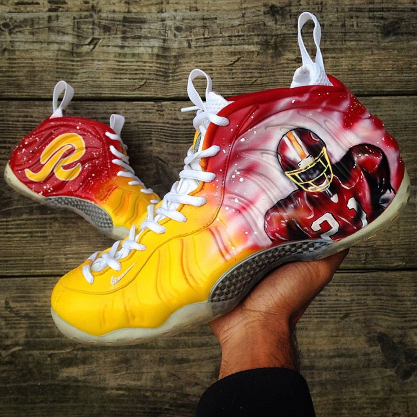 c598cfecd6360 Sean Taylor by Kreative Custom Kicks