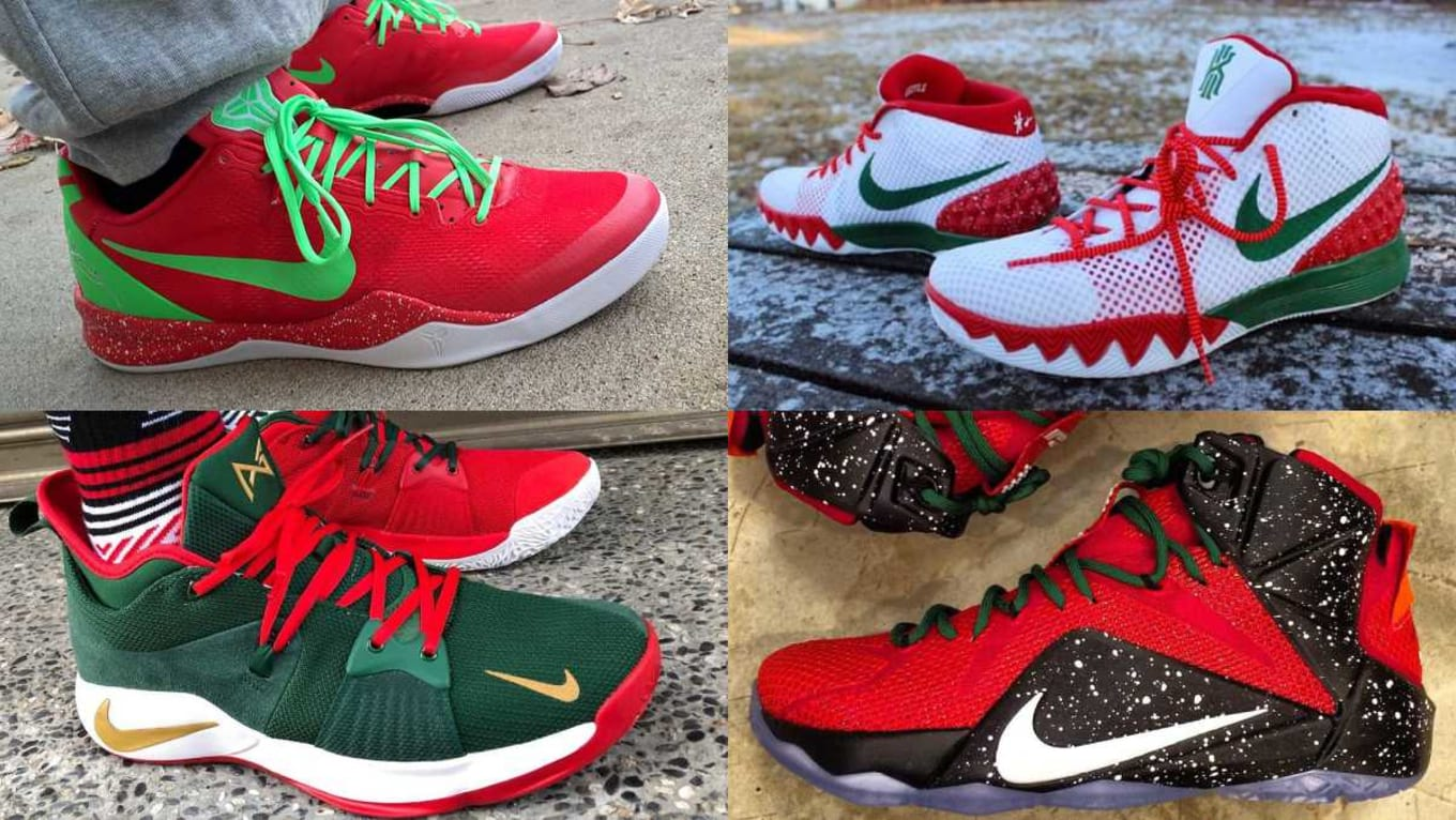 d64d0e5d6e0527 See your favorite sneakers with holiday makeovers.