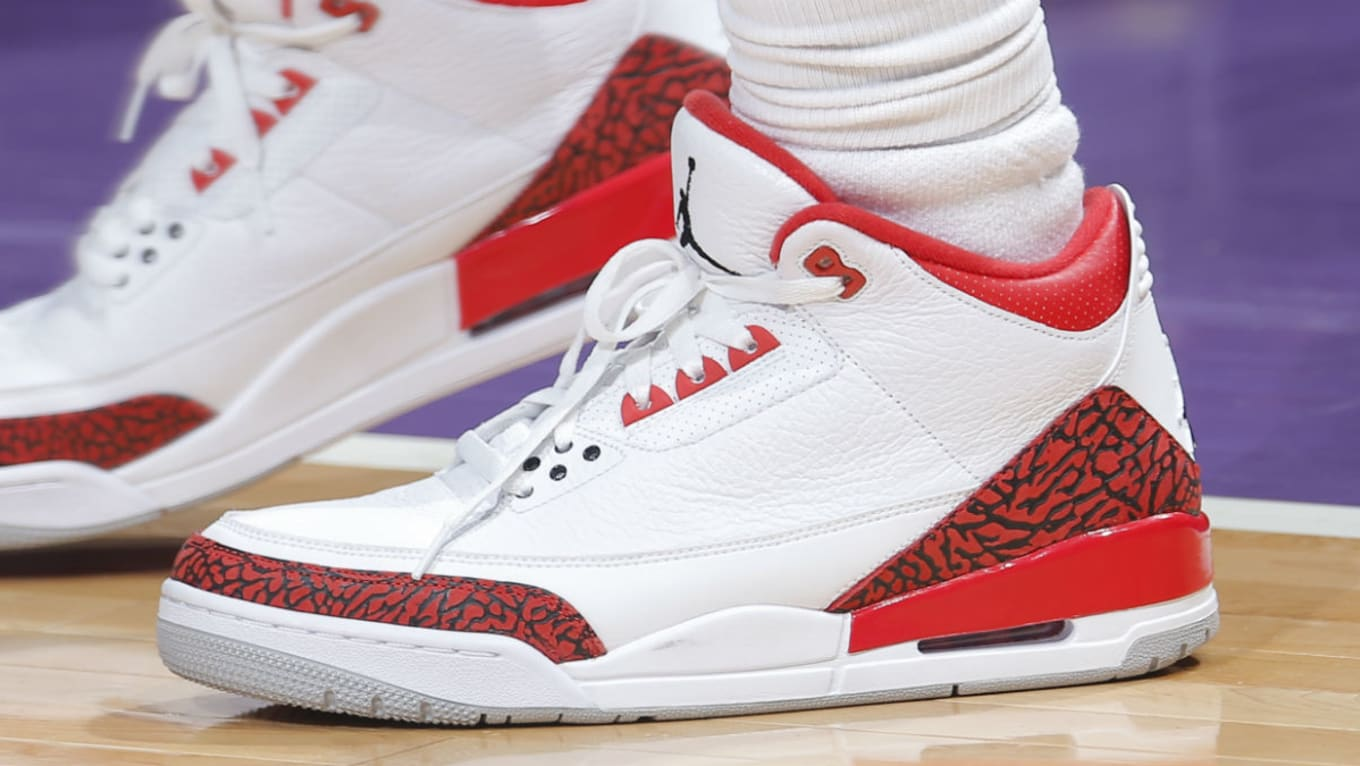 lower price with 86638 7db66 Chris Paul Air Jordan 3 Red Cement | Sole Collector