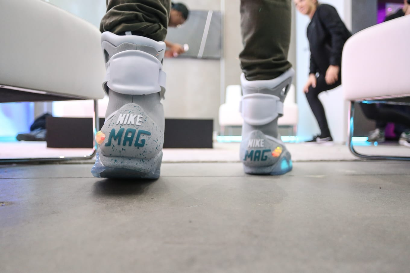 808431bd5 What It s Like to Wear Auto-Lacing Nike Mags