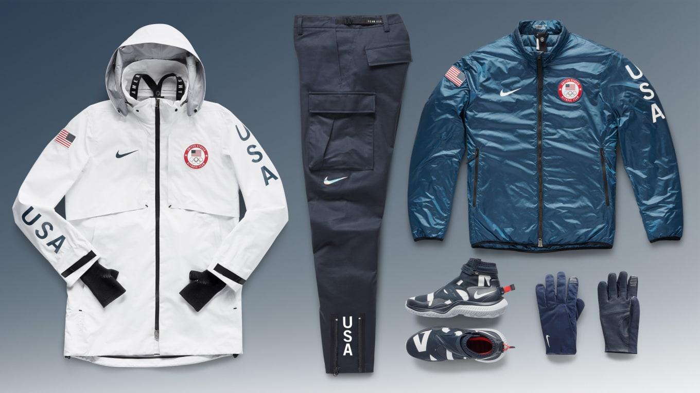2020 Winter Olympics Apparel.Nike S 2018 Winter Olympics Team Usa Medal Stand Apparel