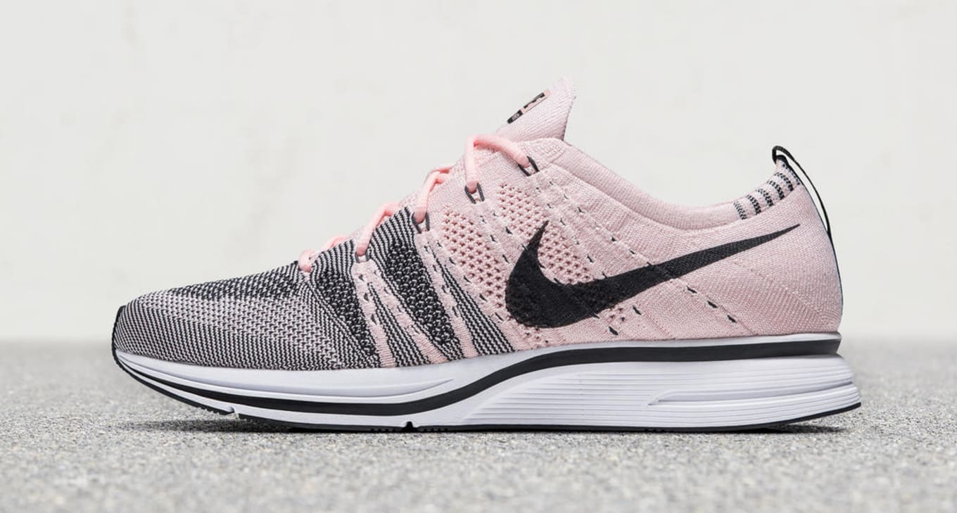 91ef138df25 Nike Flyknit Trainer Pale Grey Bright Citron