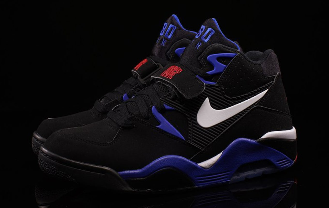 Nike Air Force 180 Black Sport Royal White Red | Sole Collector