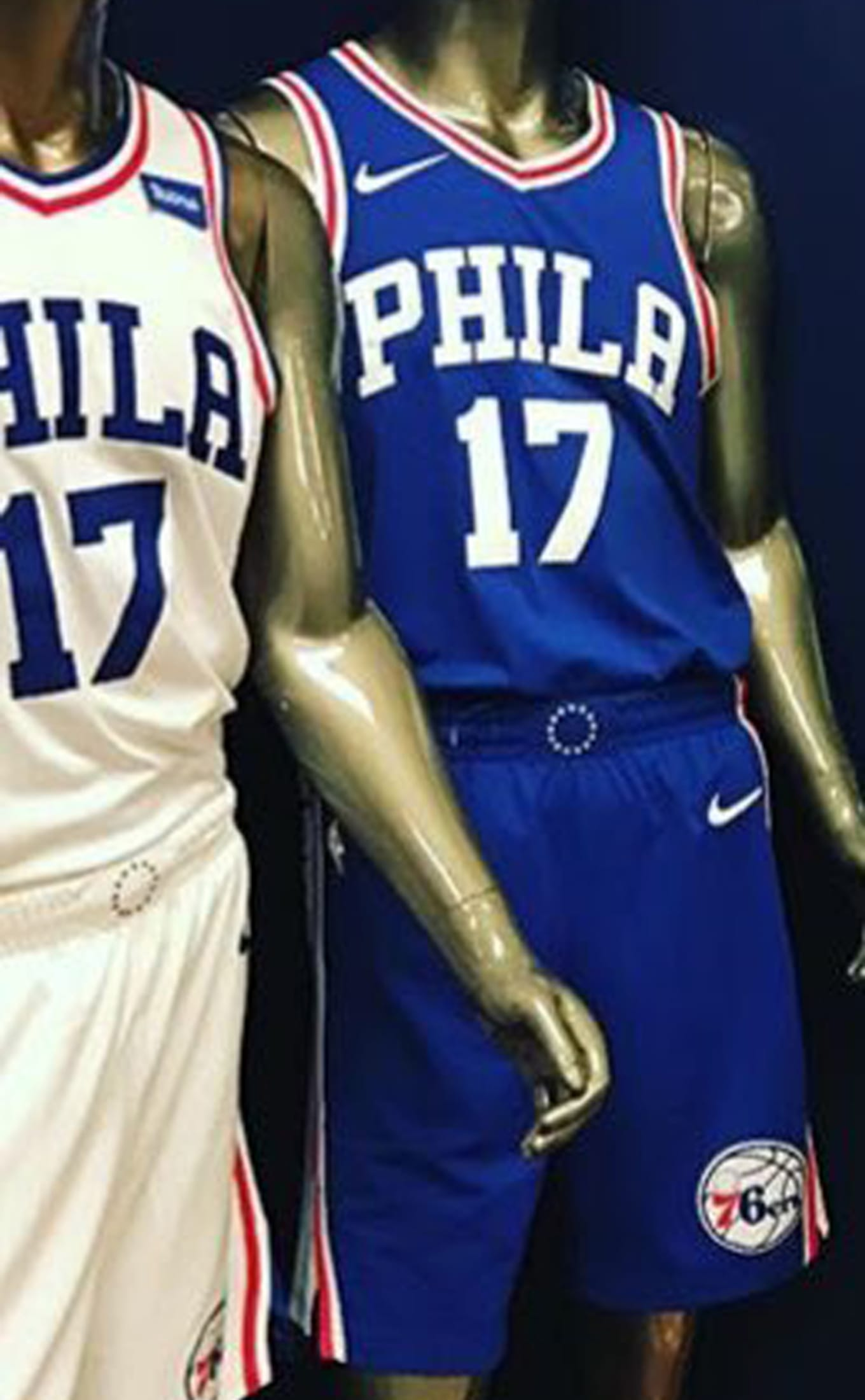 a549611d12a Nike NBA Jerseys 2017 Philadelphia 76ers