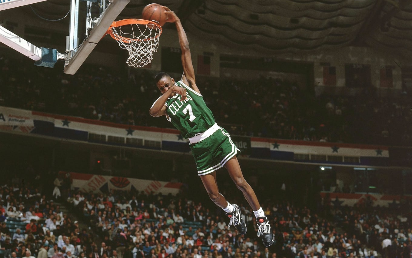 01e906a9 Dee Brown Best Dunk Contest Sneakers Reebok Pump | Sole Collector