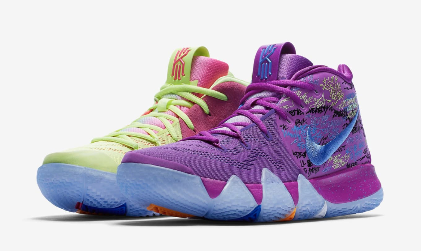 7b2c14402fc740 Nike Kyrie 4 EP Multi-color 943806-900 (Pair)