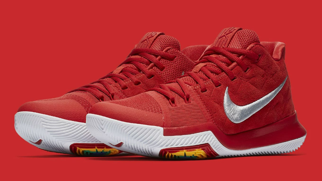 The  University Red  Nike Kyrie 3 Releases in October bcc5711c9