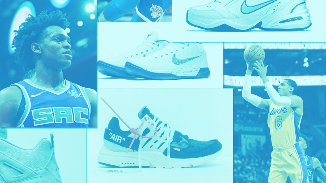check out 36111 7f749 NBA Players Name Their Favorite Sneakers of 2017