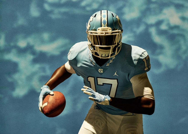 official photos 24116 ad9f6 Air Jordan North Carolina Football Uniforms | Sole Collector