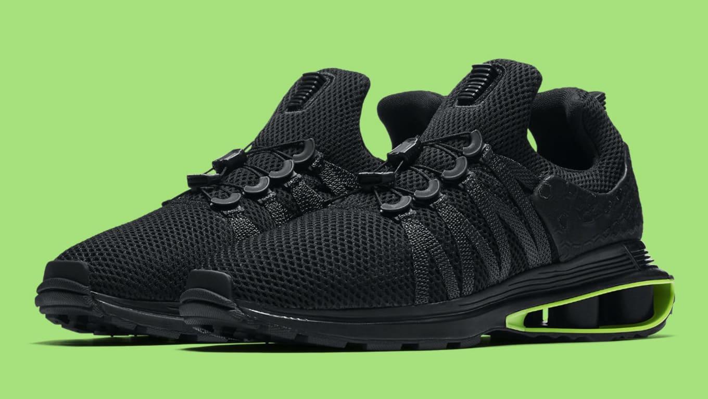 Nike Shox Gravity Luxe Black Green Strike Release Date AR1470-003 ... 2e30b0719