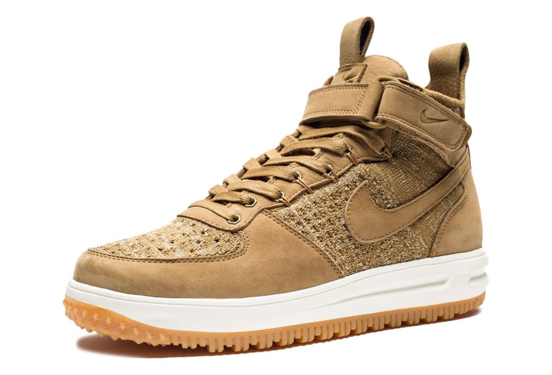 40015de8b86 Wheat Nike Lunar Force 1 Flyknit Boot