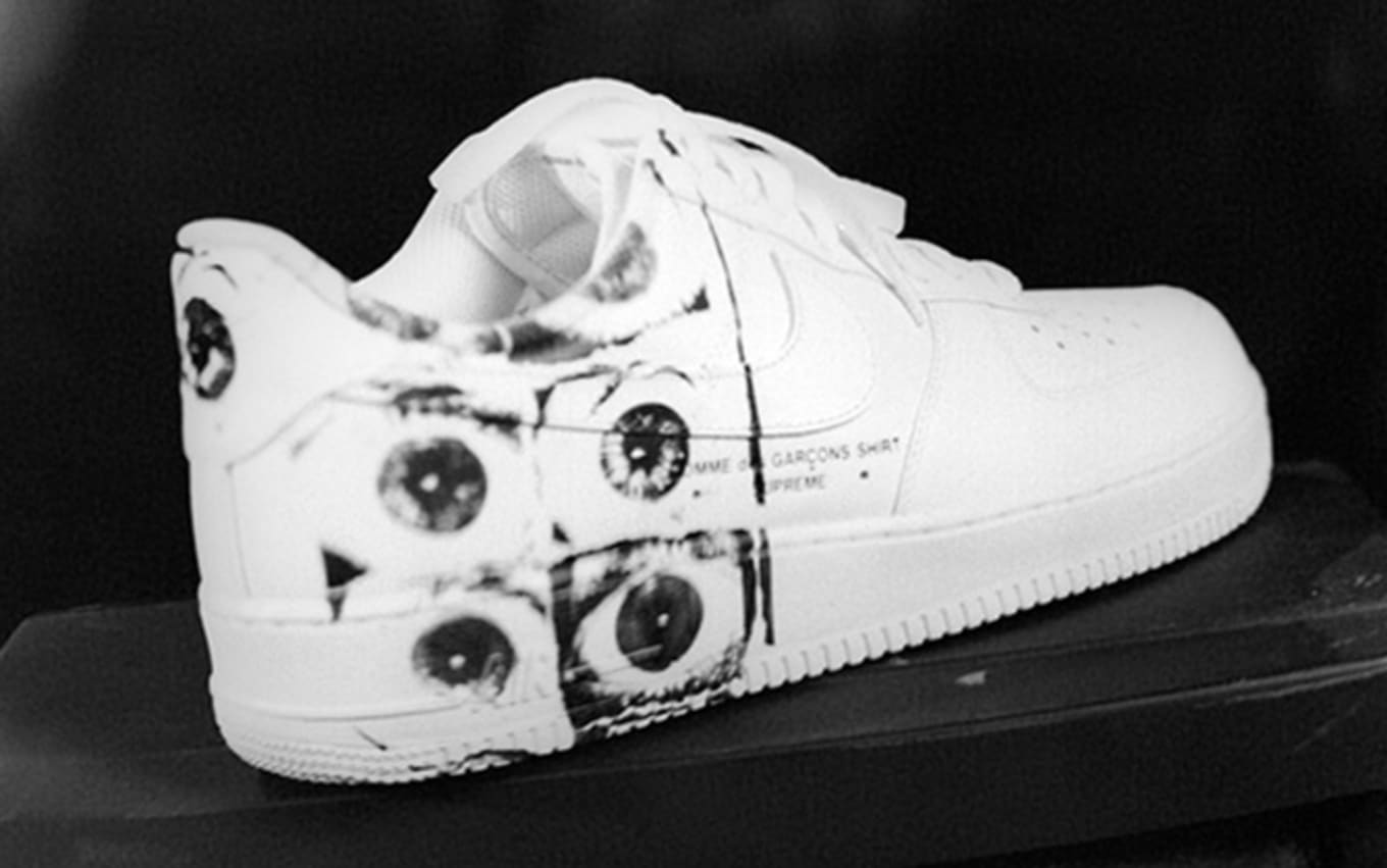 online retailer 3659d 156a4 Supreme Comme Des Garcons Nike Air Force 1 Low Release Date ...
