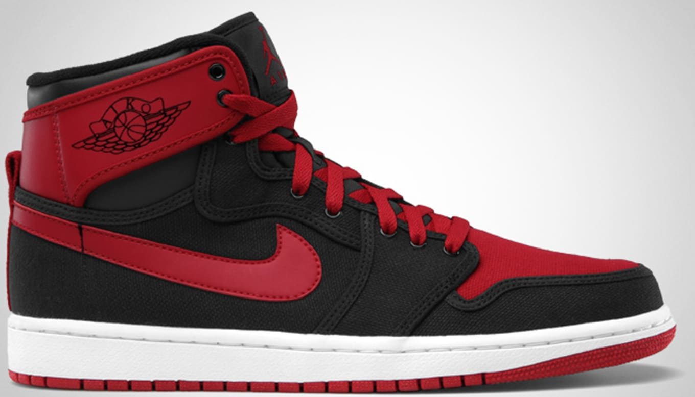 wholesale dealer 269f9 0c6ca Air Jordan 1 Retro KO High Black Varsity Red White