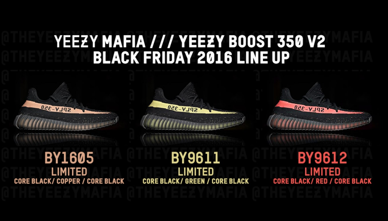 239c6a341e8 Black Friday might be a huge day for Yeezy Boosts.