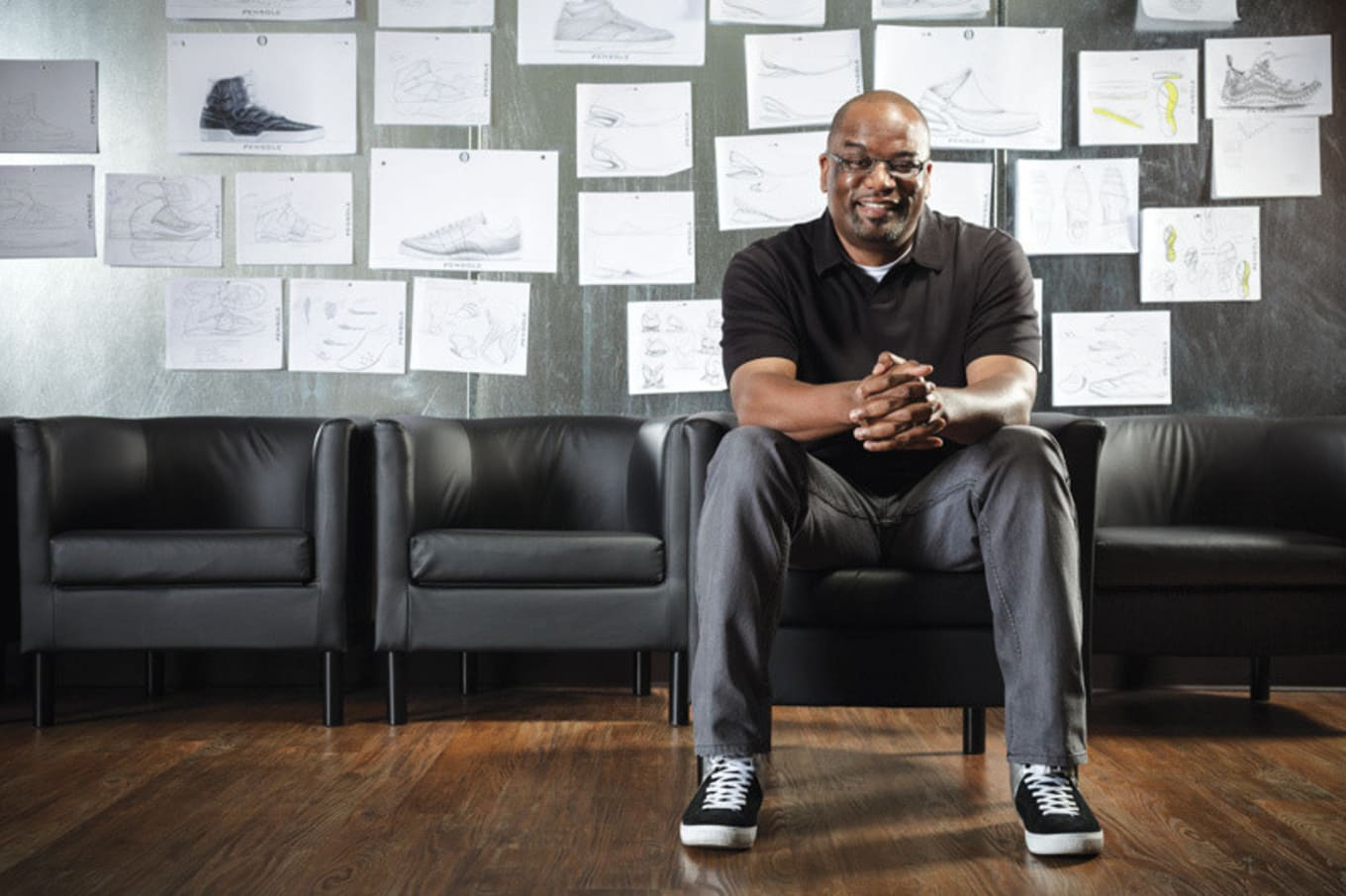 b29eecffa35f Black Heroes of the Industry  The Designer Who Started His Own Sneaker  School