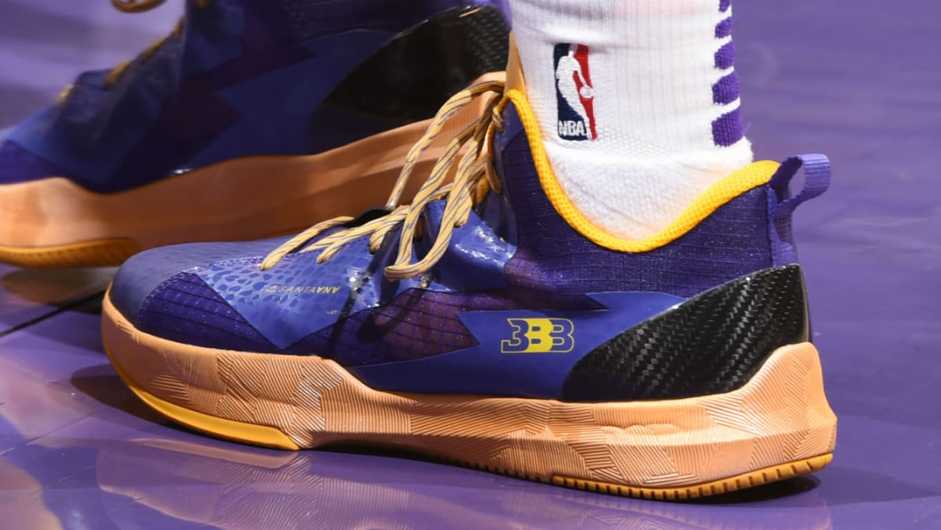 Los Angeles Lakers Ask Lonzo Ball If Big Baller Brand Sneakers Are Causing Ankle Injuries Sole Collector