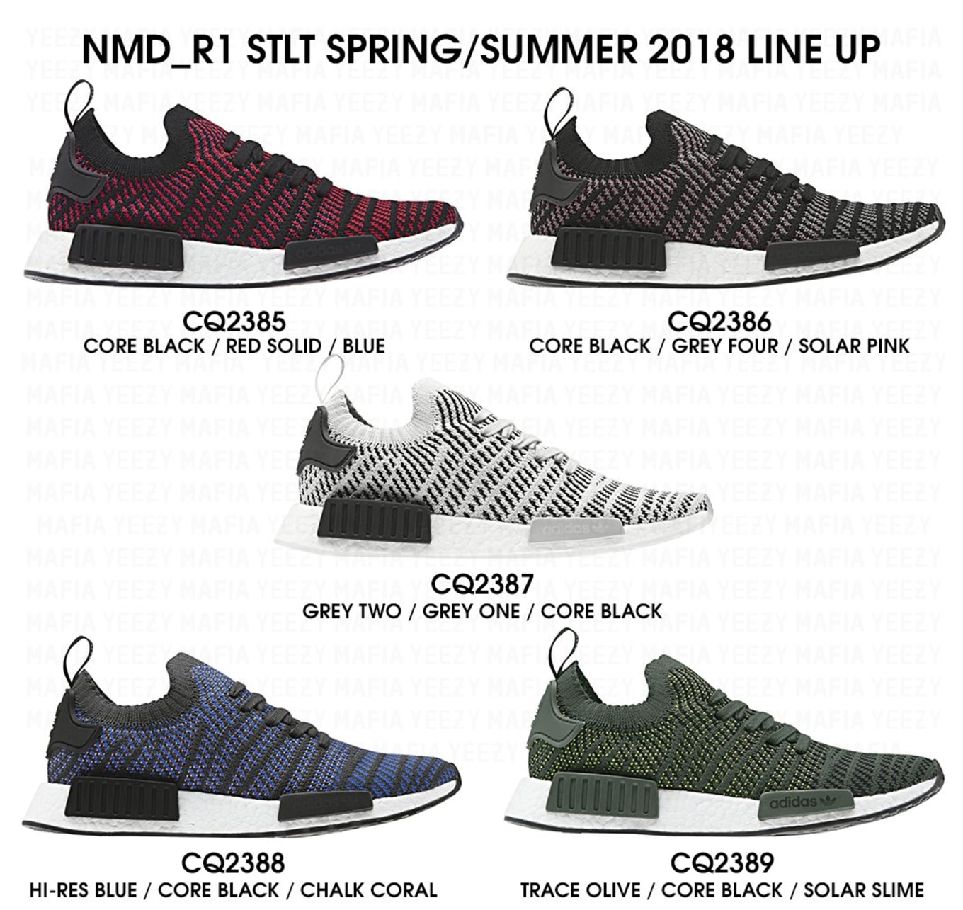 the best attitude 5813d ba077 Adidas NMD STLT 2018 Release Date   Sole Collector