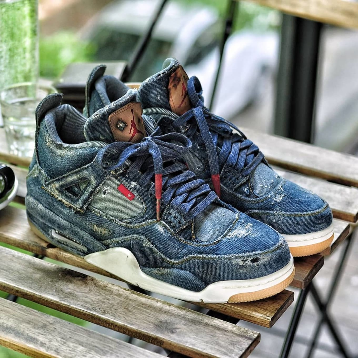 meet 2f3d4 10762 Custom Levi's x Air Jordan 4 | Sole Collector