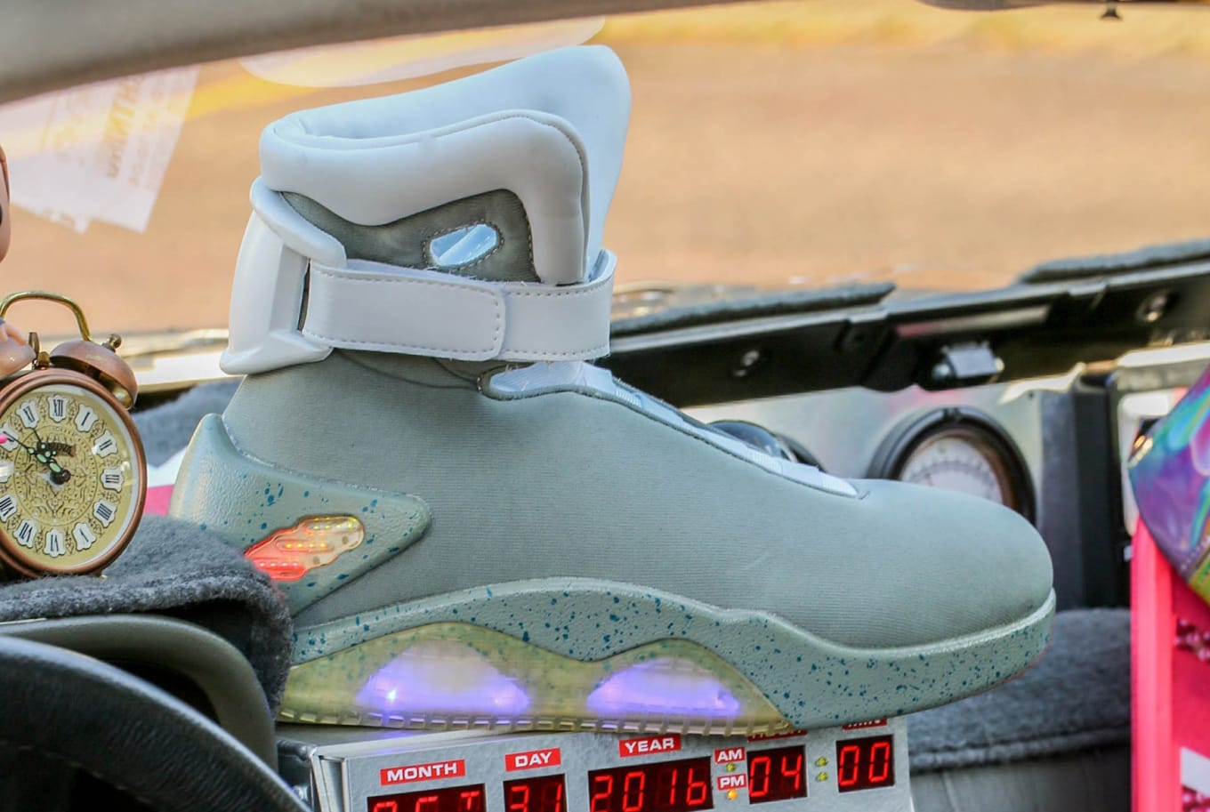 Nike Mag Back To The Future Halloween Costume Shoes Sole