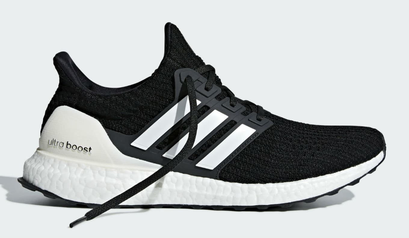 bccdb9a7323 Adidas Ultra Boost 4.0 Show Your Stripes Core Black Cloud White ...