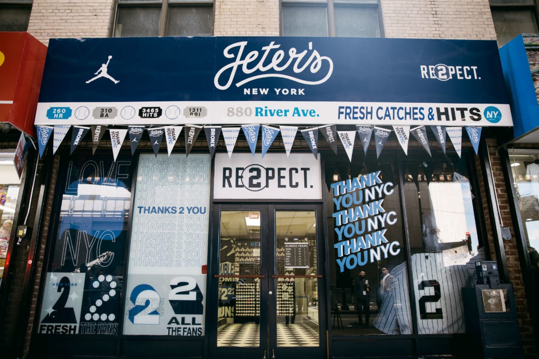 08aa3e2261f804 Derek Jeter Air Jordan 11 Pop-Up Shop in New York