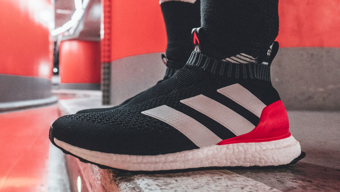 0f0592bc0 Adidas Combines Soccer and Running Shoes on Ace 16 Ultra Boost