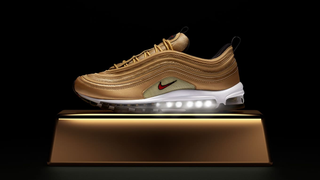 c2c54c3c Nike Is Releasing a Collection of Metallic Gold Air Maxes. 97s ...