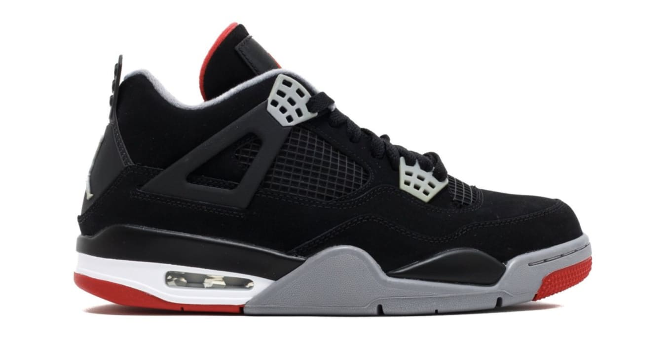 new arrival 03b67 2ee94  Bred  Air Jordan 4s Rumored for 2019. Complete with OG  Nike Air  branding.