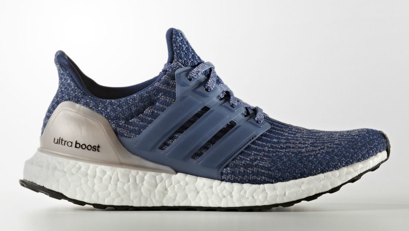 Adidas Ultra Boost Women's Mystery Blue Side BA8928 | Sole