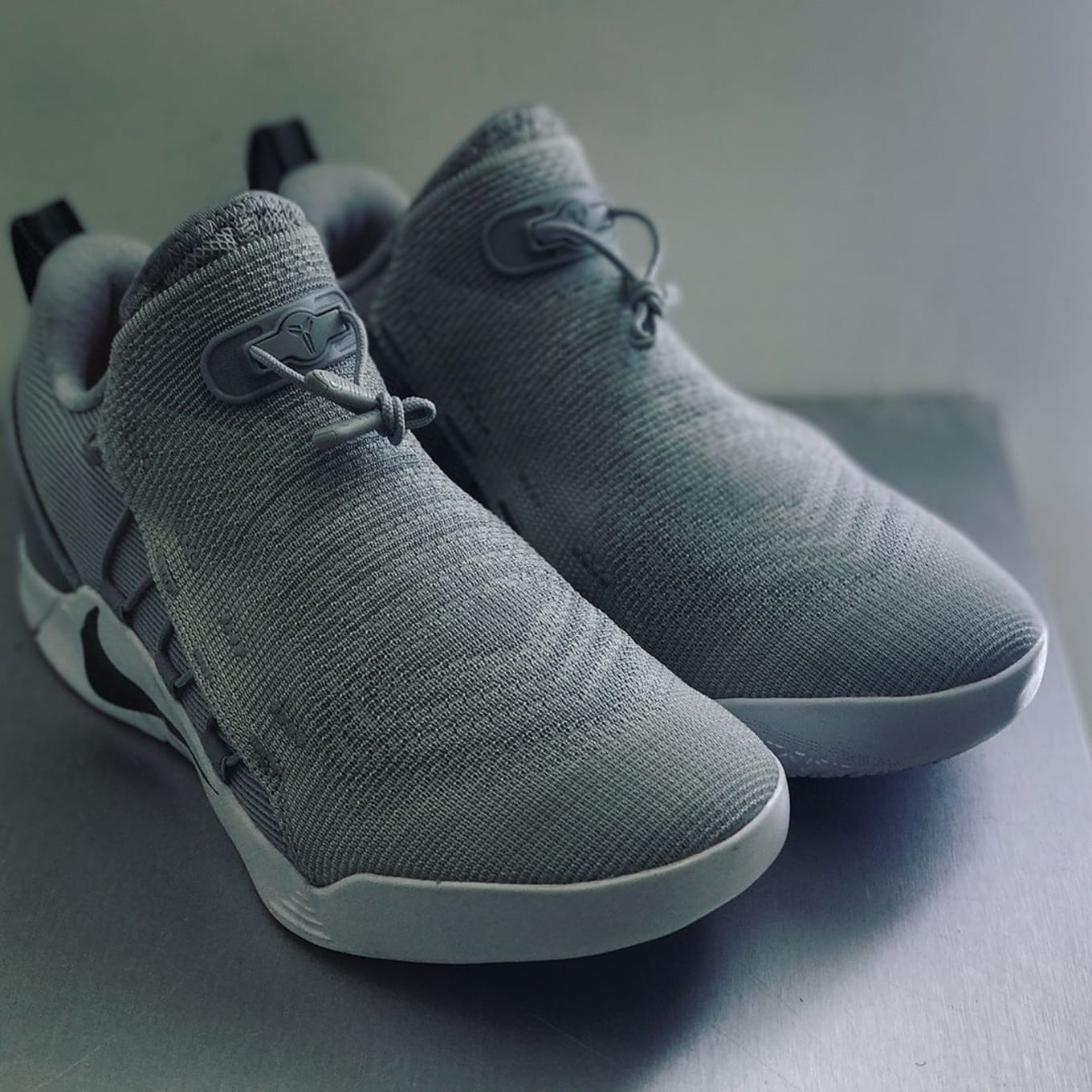 official photos e2bbf bc2b1 First look at the Kobe A.D. NXT in two colorways.