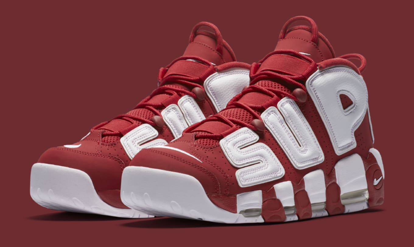 c8e3df44415876 Supreme x Nike Air More Uptempos Release Again Tomorrow
