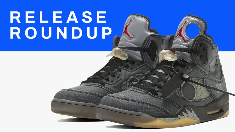 Sneaker Release Guide 21020: Off White x Air Jordan V