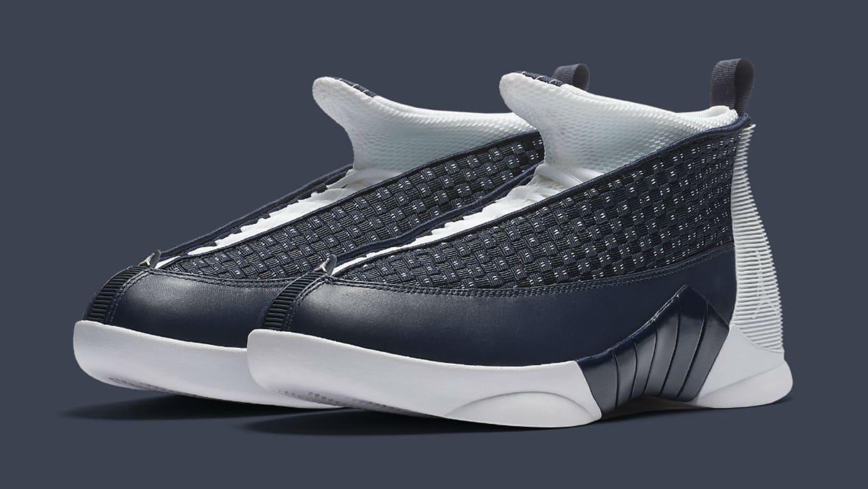 38fca554a71e37 Air Jordan 15 Obsidian Release Date 881429-400