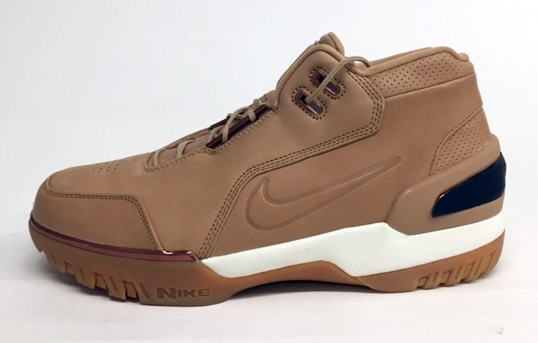 7d33da7b5d69  Vachetta Tan  Nike Air Zoom Generation Revisits LeBron s First All-Star  Shoe