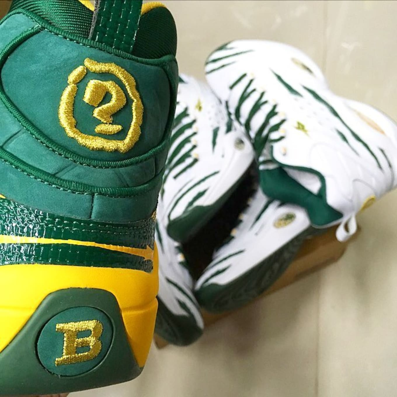 sports shoes b5787 a9db7 Reebok Made Question Prototypes for Allen Iverson s High School