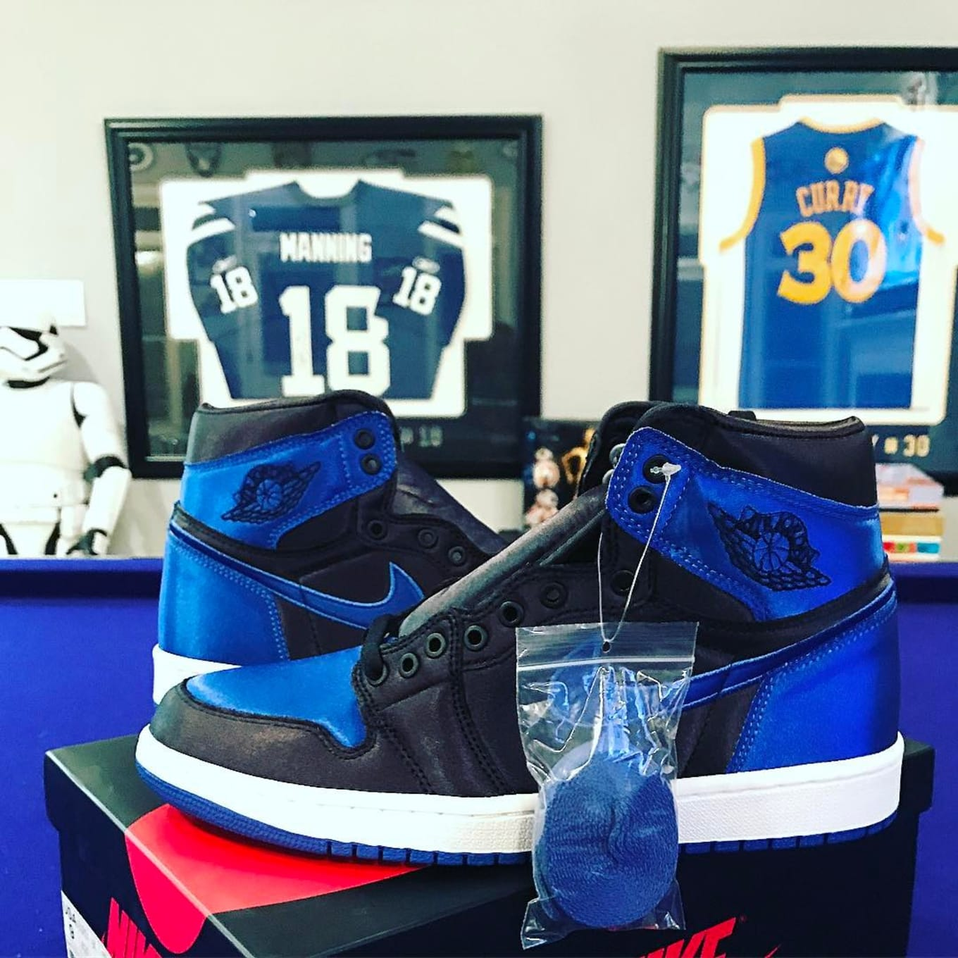 094c7ca214e Is the 'Royal' Satin Air Jordan 1 Releasing Today? Two retailers expected  to stock limited edition kicks.